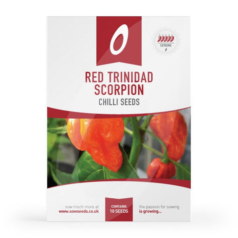 Red Trinidad Scorpion Chilli Seeds