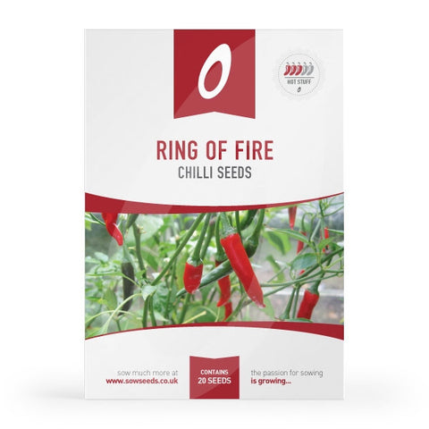 Ring of Fire Chilli Seeds