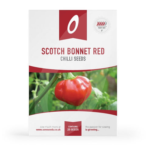 Scotch Bonnet Red Chilli Seeds