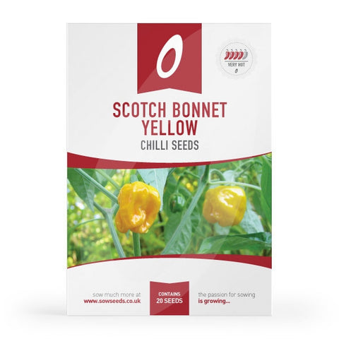 Scotch Bonnet Yellow Chilli Seeds