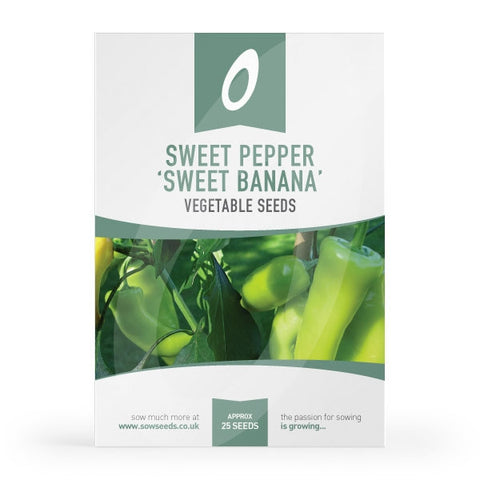 Sweet Pepper Sweet Banana Seeds