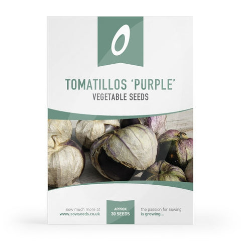 Tomatillos Purple Seeds
