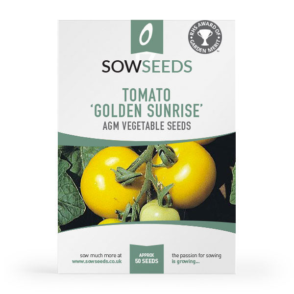 tomato golden sunrise vegetable seeds
