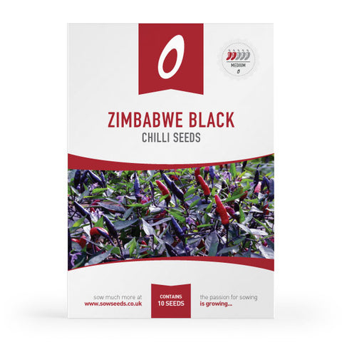Zimbabwe Black Chilli Seeds
