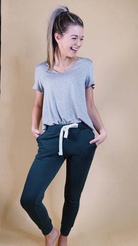 Olivia slim fit shoulder top