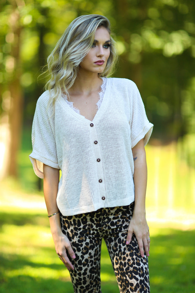 Kayla button down cardigan