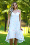 Anniston Yarn Dye Ticking Stripe Sun Dress