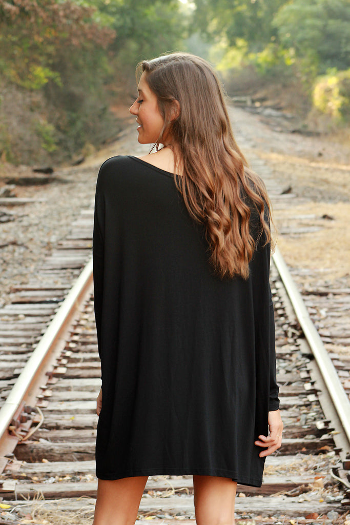 Piko Dress - Black , Dress - love june, Love June Boutique  - 2