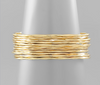 Brass Plated Layered Cuff