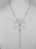 Plated Disc Necklace