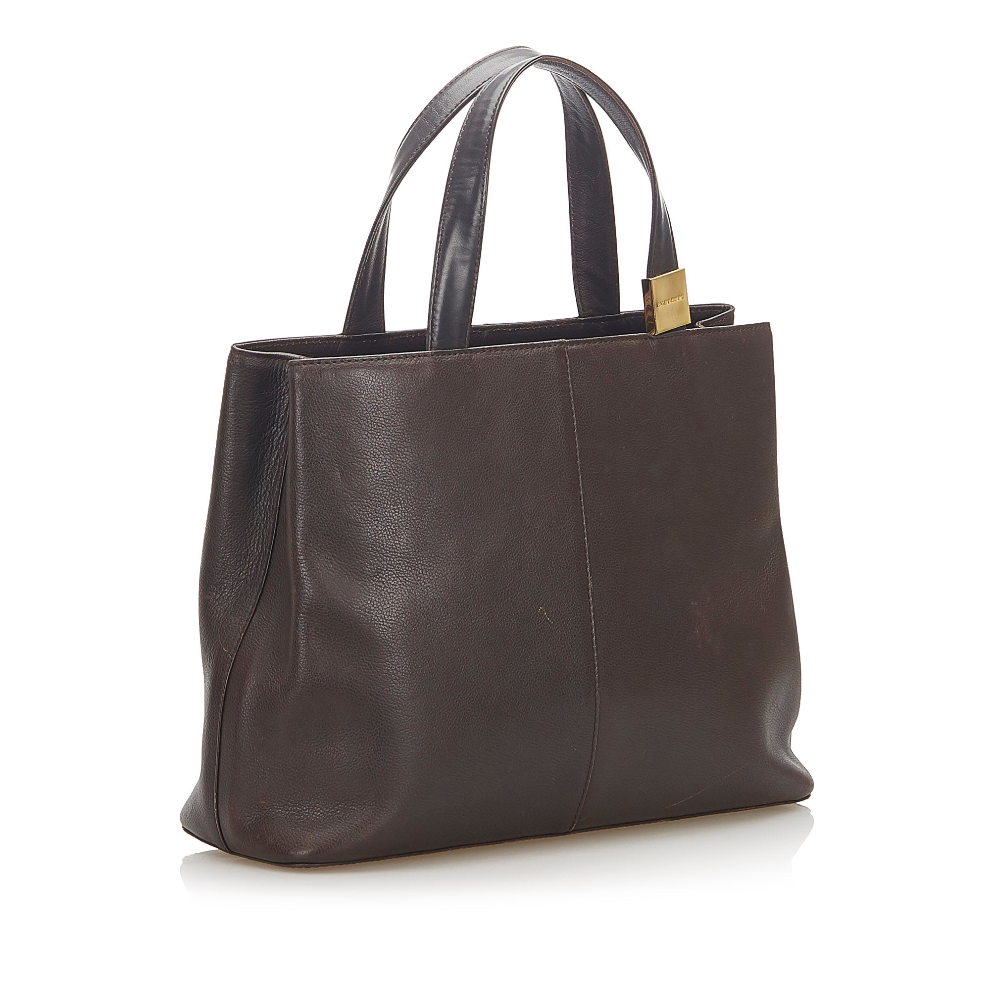 Burberry Brown Leather Handbag