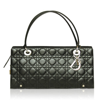 Miss Dior black quilted lambskin handbag