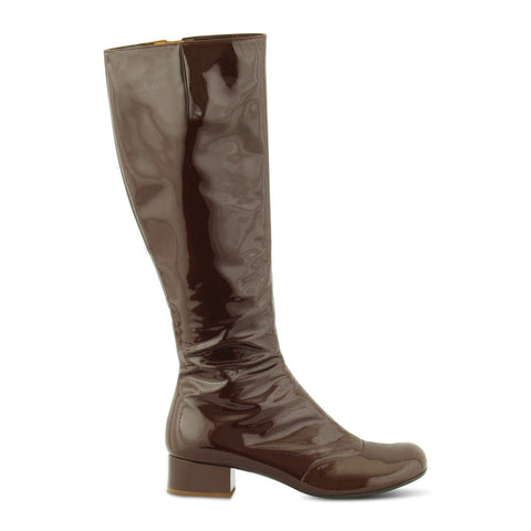 Chie Mihara Patent Leather Boots
