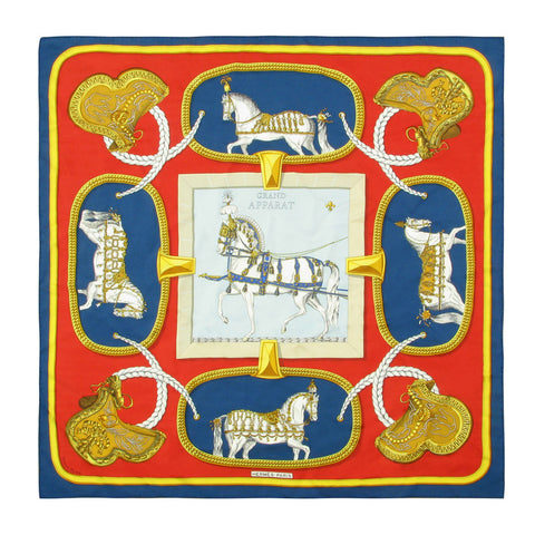 Hermes Jacques Eudel Grand Apparat Scarf