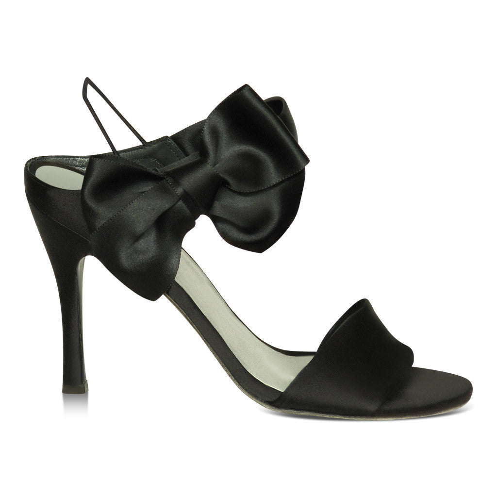 Stuart Weitzman Sandal with Black Bow