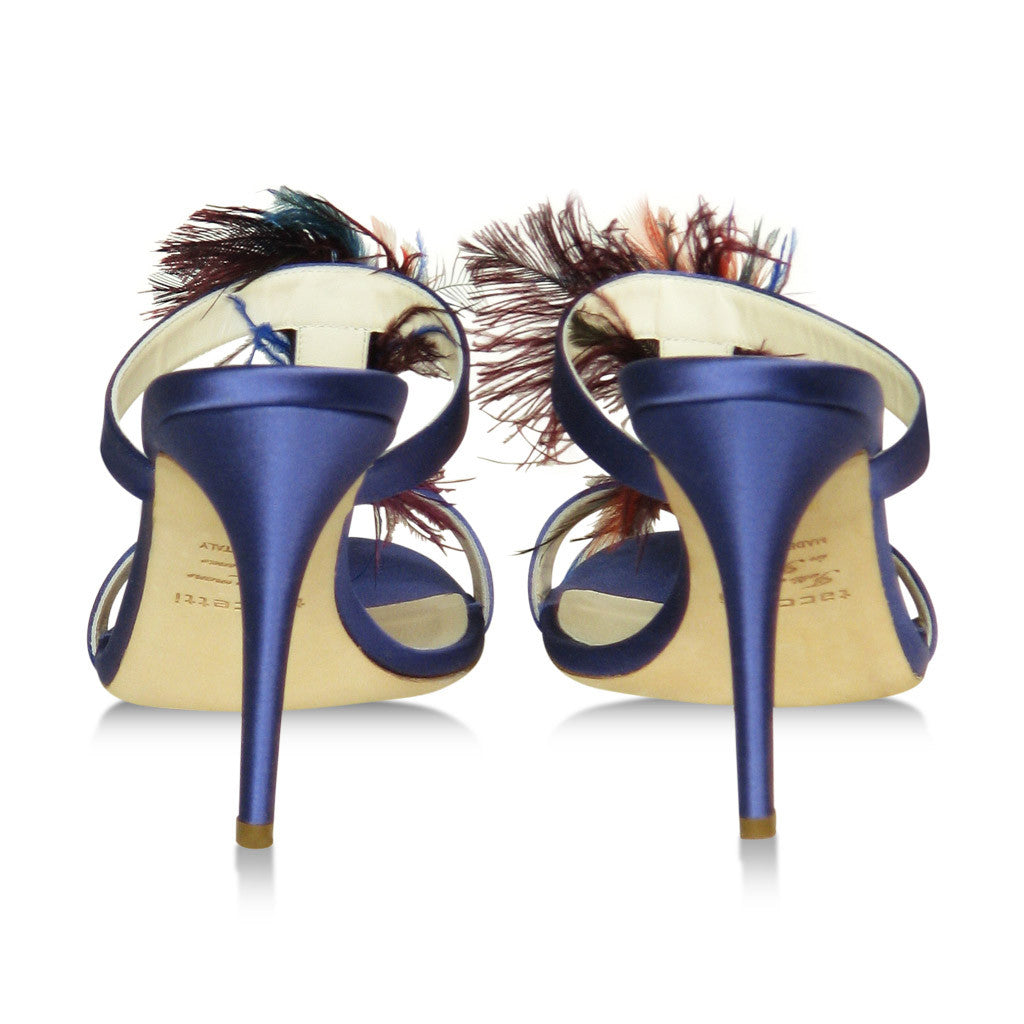 Taccetti Sandals with feathers