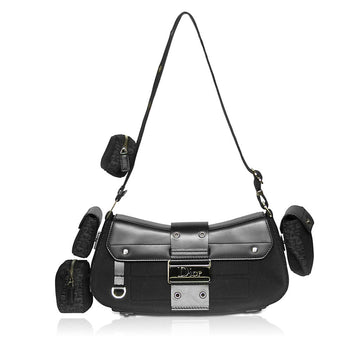 Christian Dior Street Chic Columbus Avenue shoulder bag in black