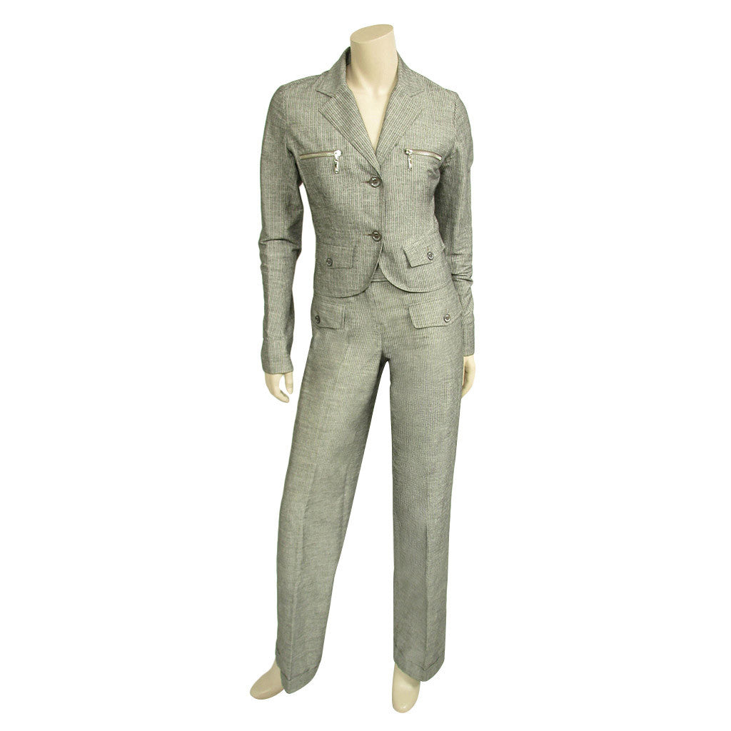 John Galliano Pant Jacket Suit