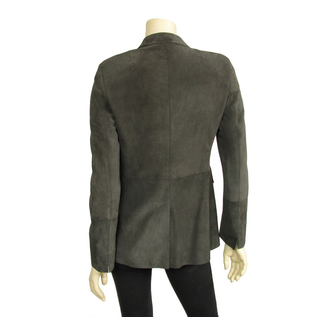 Akris long sleeved suede Jacket