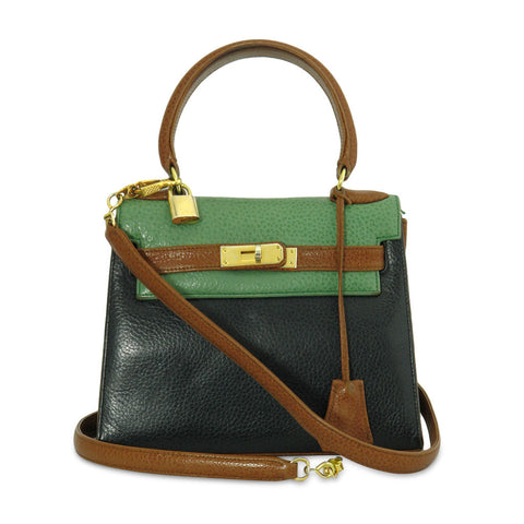 Olivier Gurtner Small Kelly Handbag