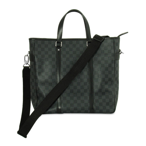 Louis Vuitton Tadao Handbag Damier Graphite PM