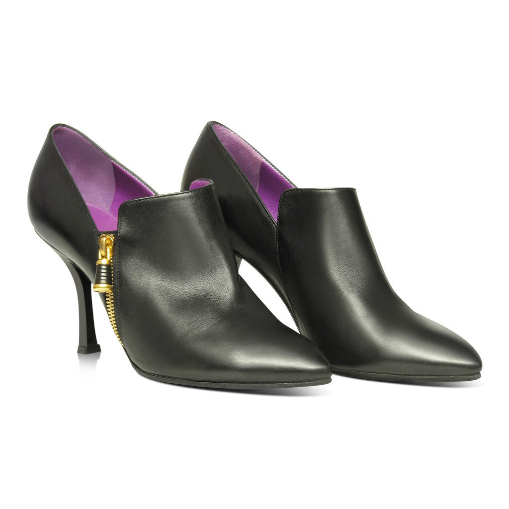 Sergio Rossi Black Booties