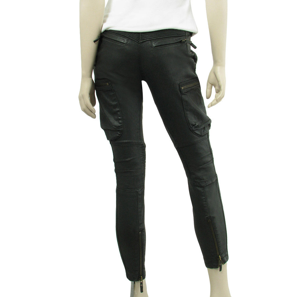 All Saints Coated Jeans