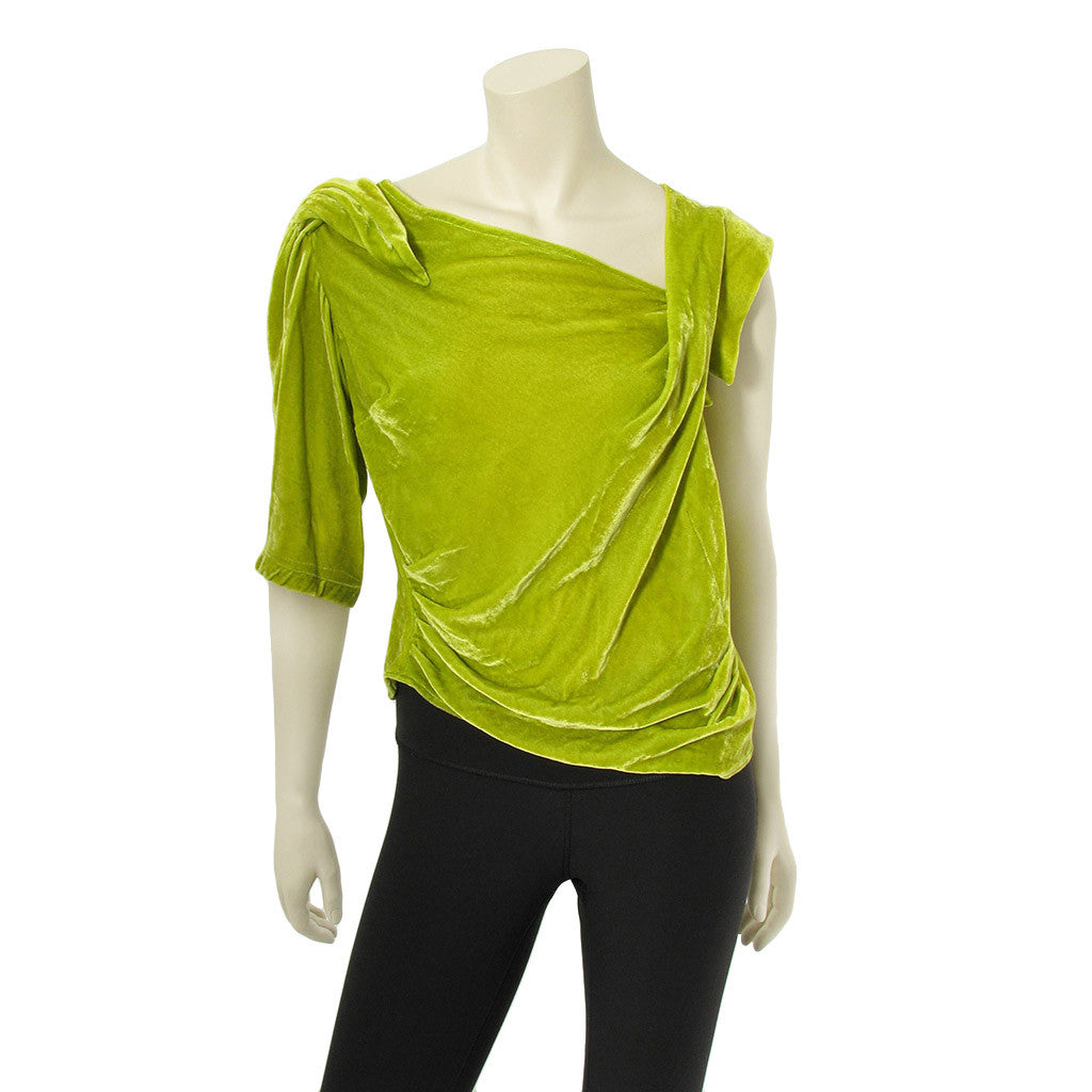 Georges Levesque Velvet Top