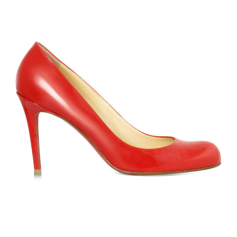 Christian Louboutin Red Patent Pumps