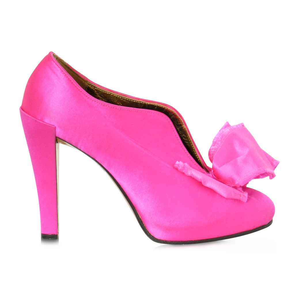 Christian Lacroix Pink Satin Pumps