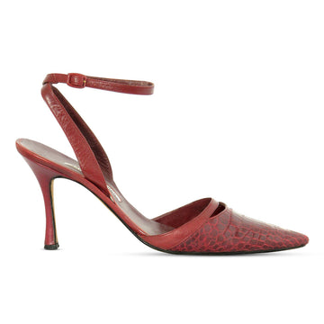 Manolo Blahnik Croc Pumps