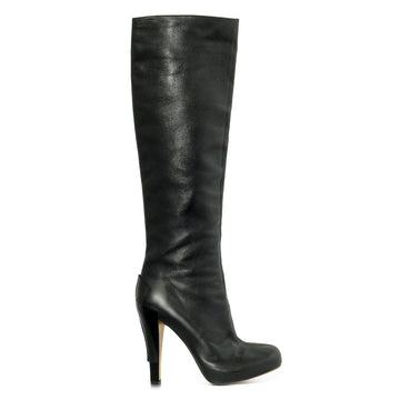 Christian Lacroix Calf high Leather Boots