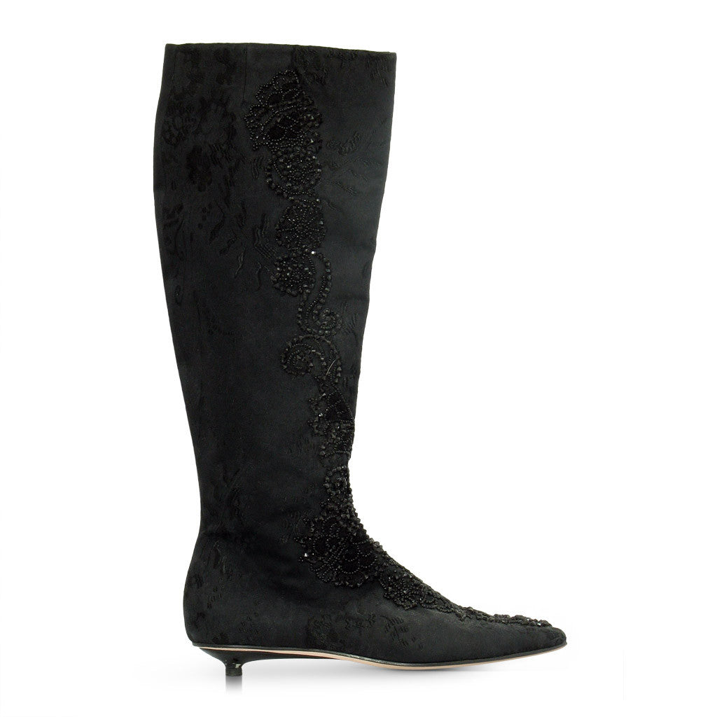 Christian Lacroix Calf high Boots