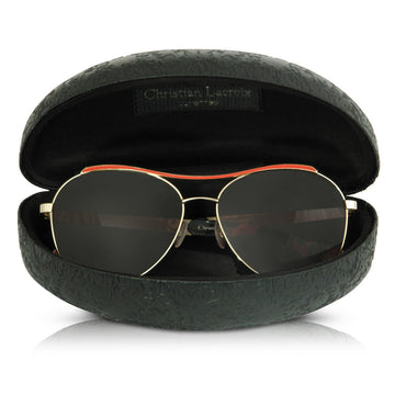 Christian Lacroix Aviator Sunglasses