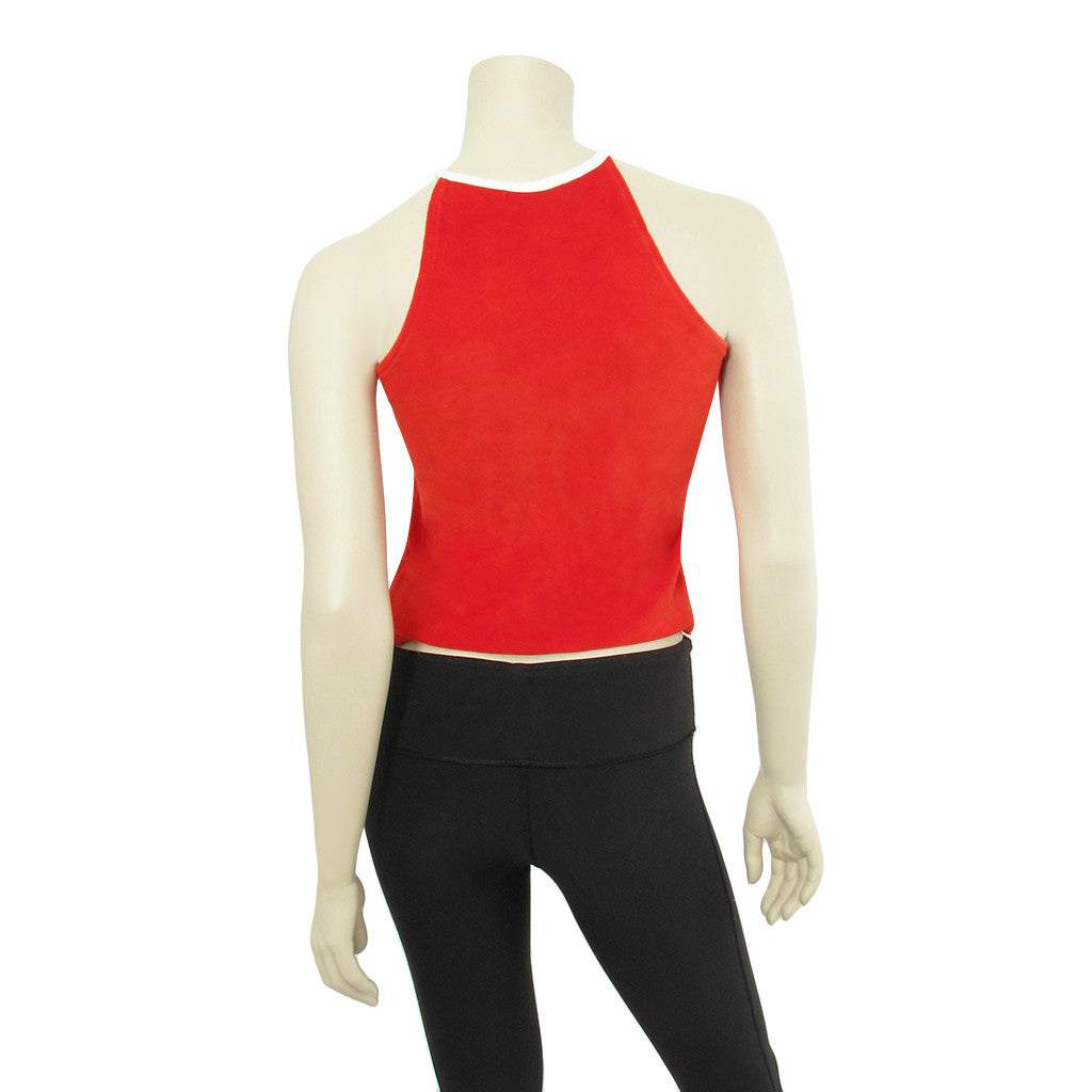 Courreges Red Tank Top