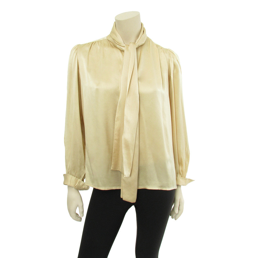 2aa06cb7f950e Yves Saint Laurent Silk Blouse 406-54. Yves Saint Laurent Rive Gauche ...