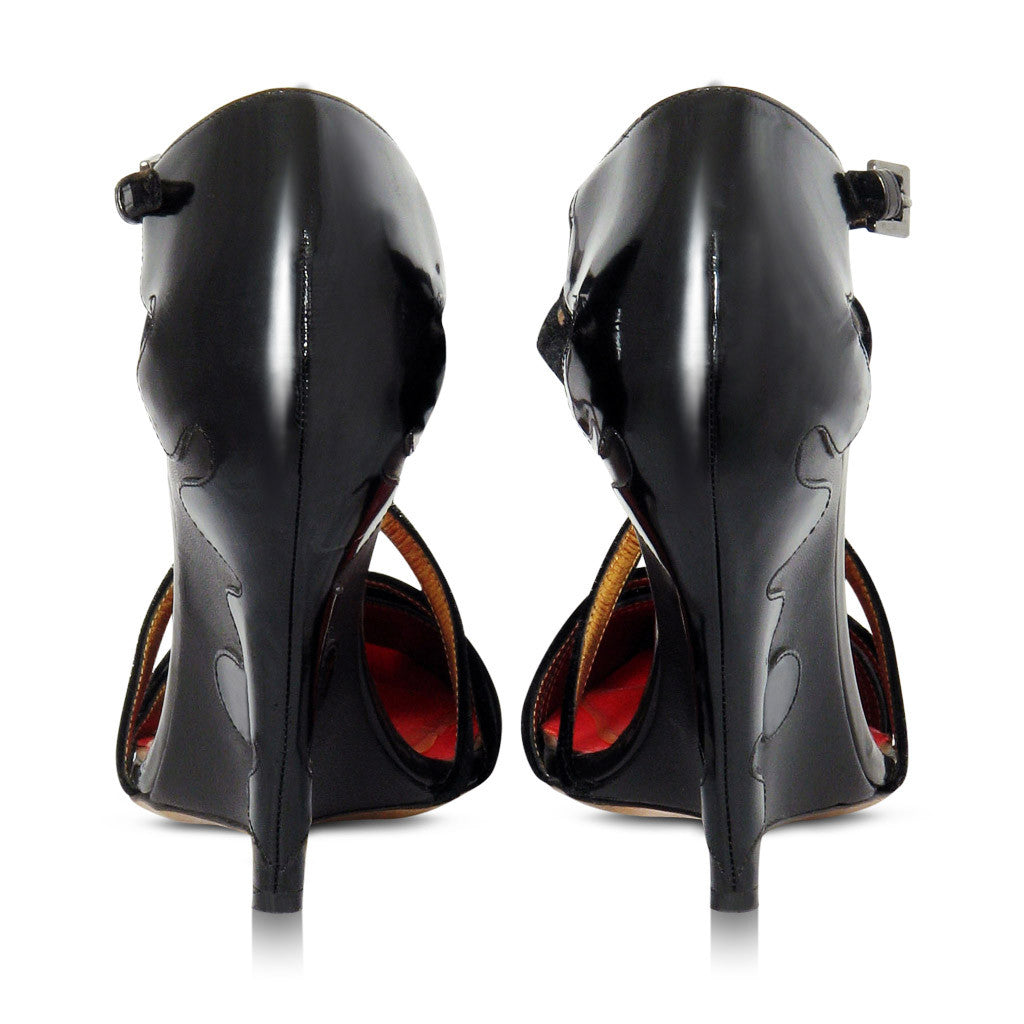 Christian Lacroix Wedge Heels