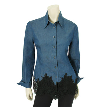 Red Valentino Jean Blouse