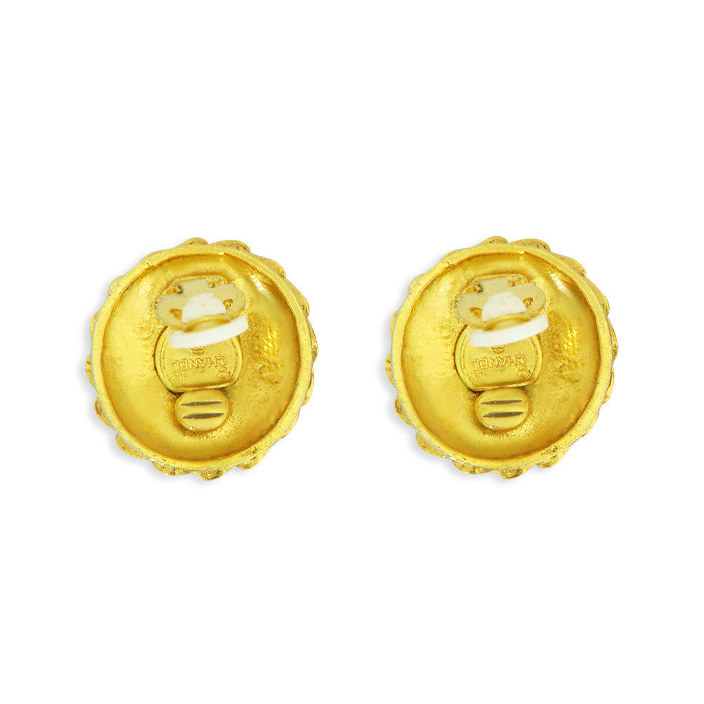 Chanel Coco Earrings
