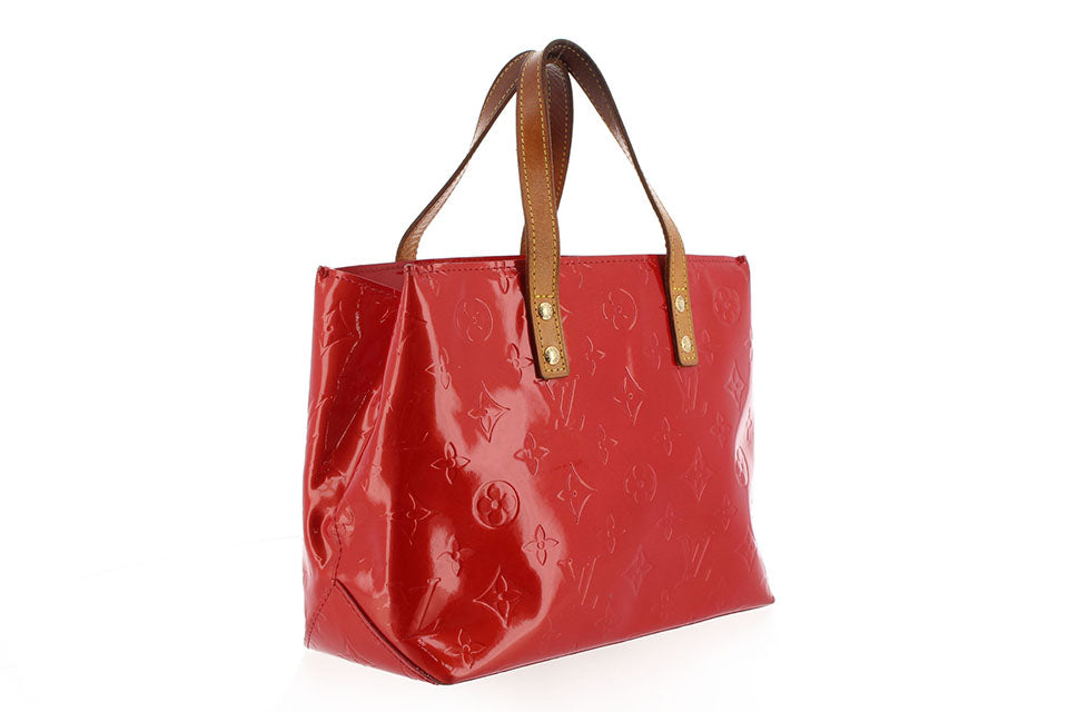 Louis Vuitton Red Vernis Reade PM