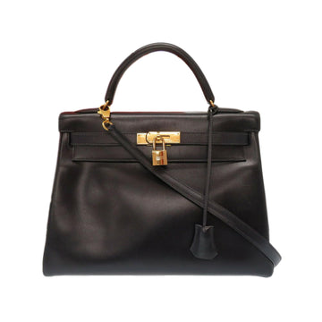 Hermes Black Box Calf Kelly 32