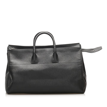 Prada Black Saffiano Travel Bag