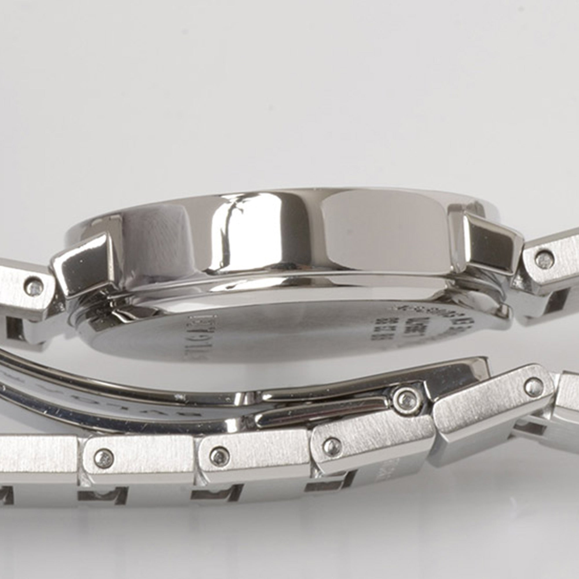 Bvlgari Silver Diagono Stainless Steel Watch