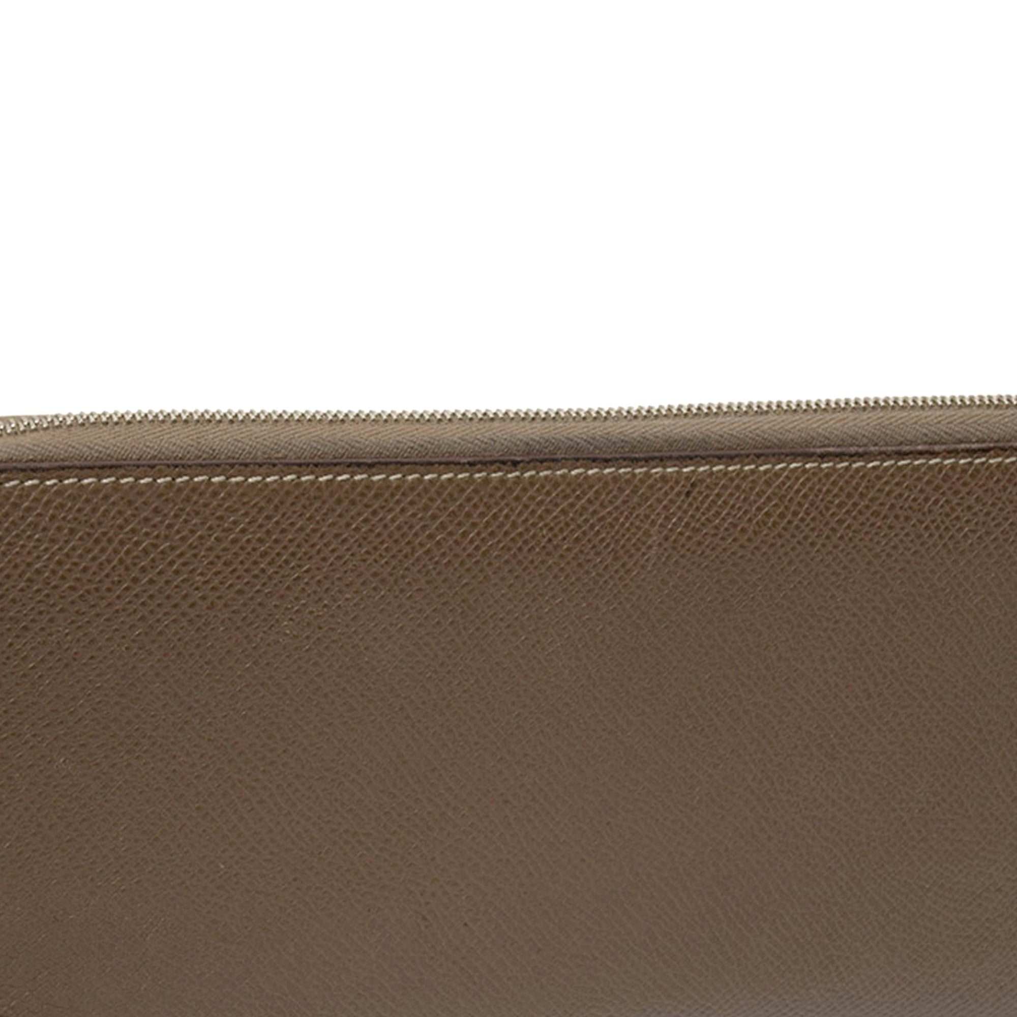 Hermes Brown Epsom Azap Wallet