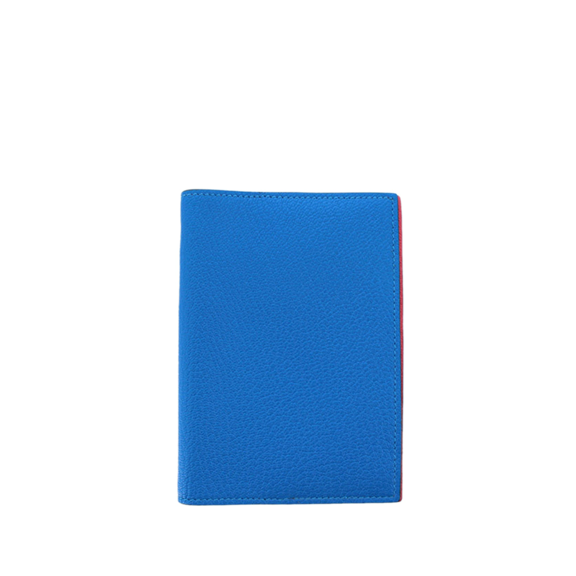 Hermes Blue Agenda PM Notebook Cover