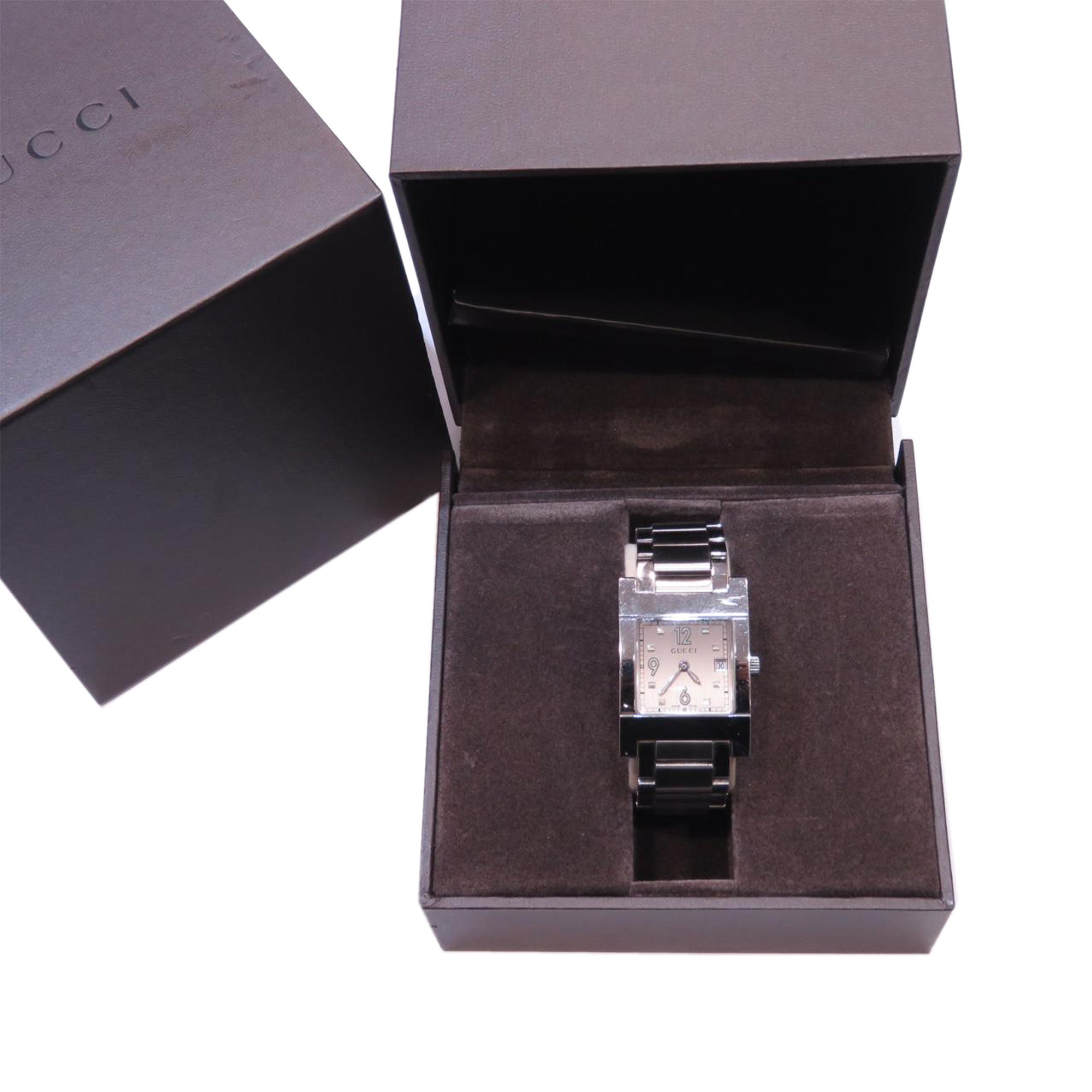 Gucci Silver 7700L Watch