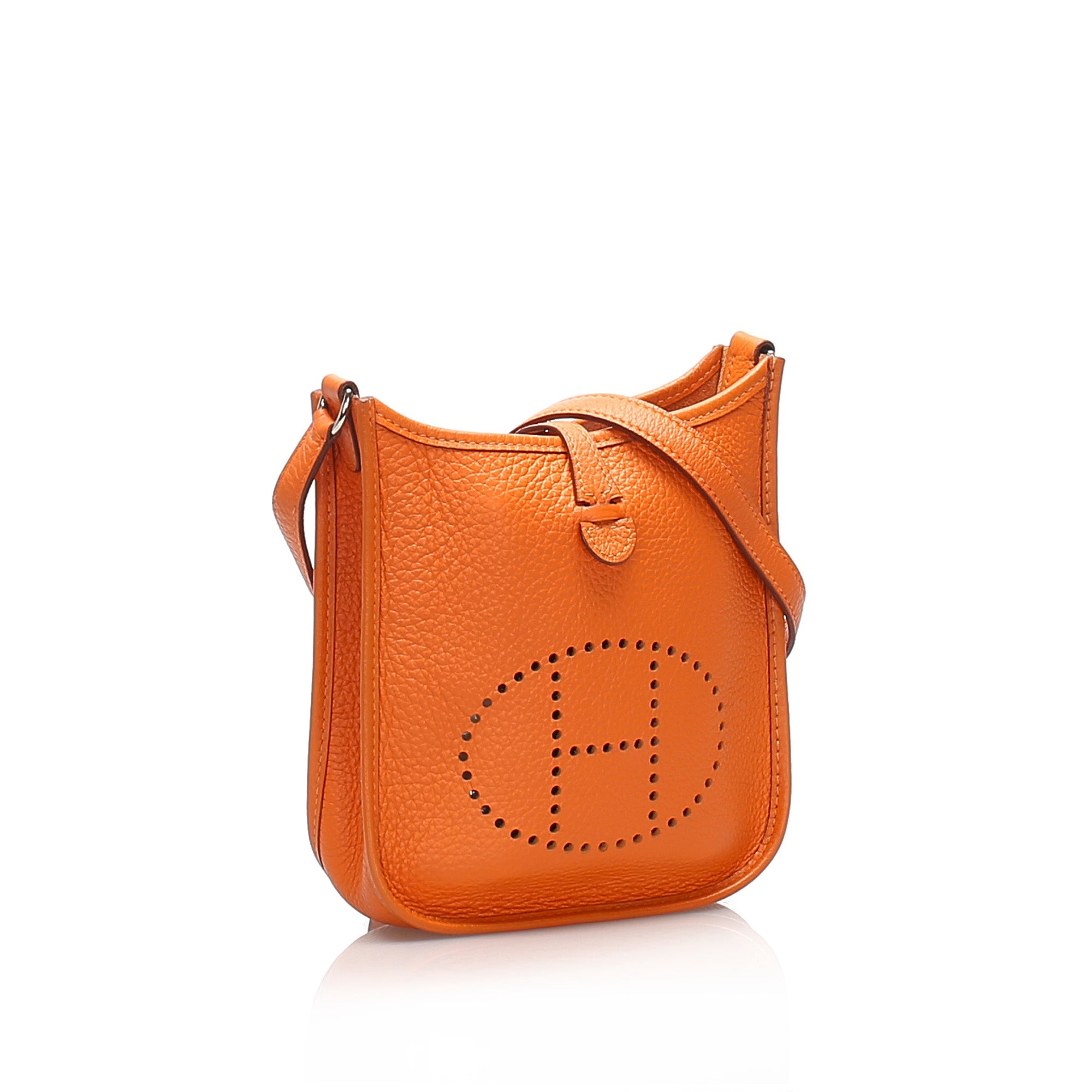 Hermes Orange Clemence Evelyne I TPM