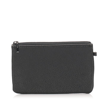 Burberry Black Leather Pouch