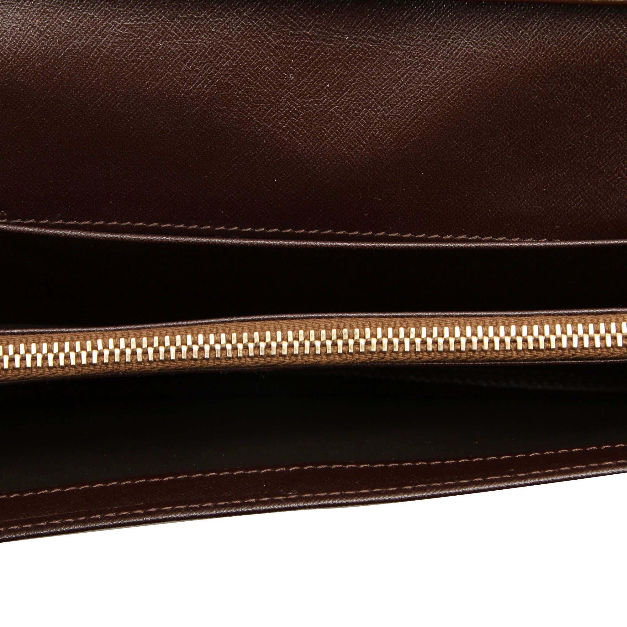 Celine Brown Macadam Long Wallet