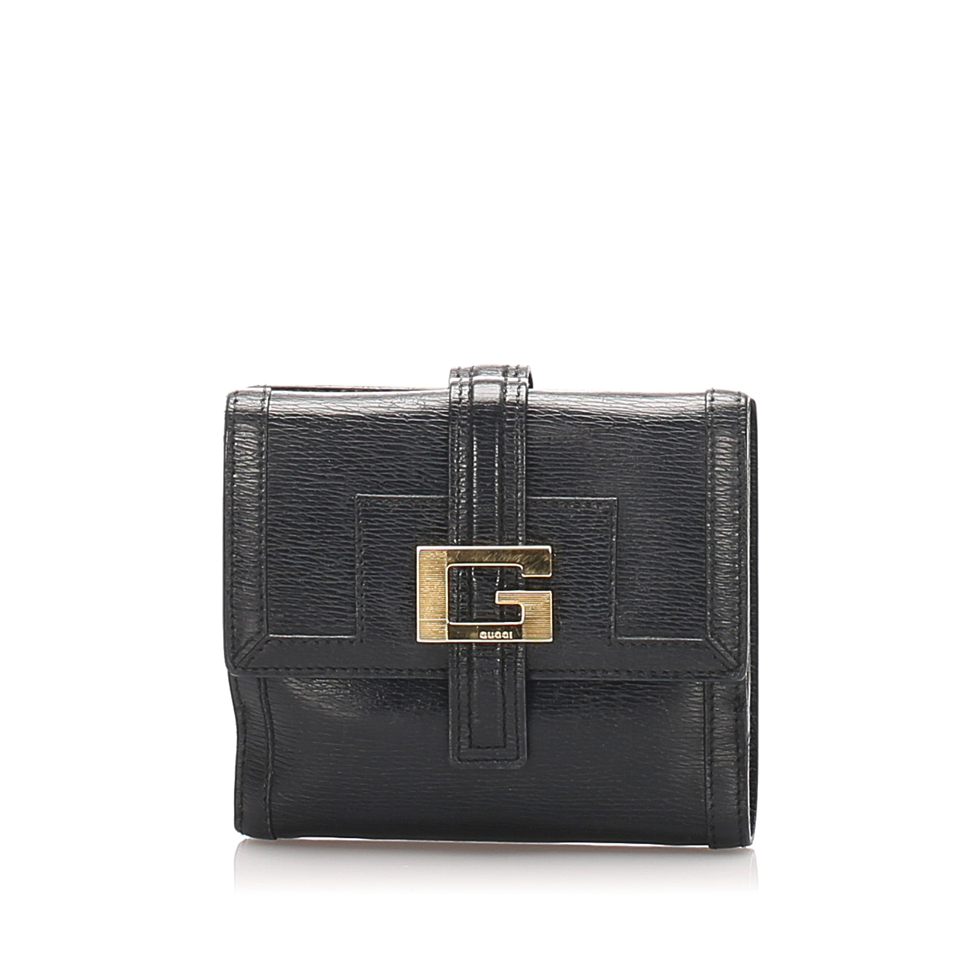 Gucci Black Leather Small Wallet